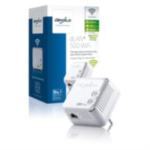 ADAPTADOR DE HOMEPLUG WIFI + ETHERNET DEVOLO 500MBPS