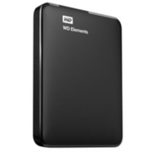 "DISCO DURO EXTERNO 750 GB WESTERN DIGITAL ELEMENTS 2.5"" USB3.0 NEGRO"