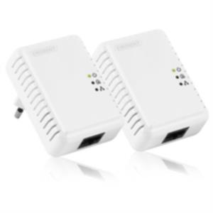 KIT 2 ADAPTADOR DE HOMEPLUG ETHERNET EMINENT EM8031 500MBPS