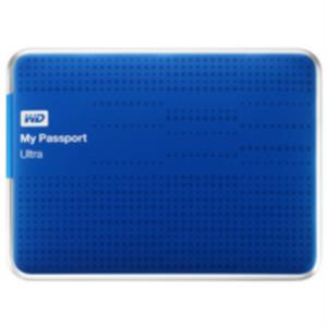 "DISCO DURO EXTERNO 1TB WESTERN DIGITAL MY PASSPORT ULTRA 2.5"" USB 3.0 AZUL"