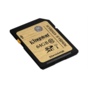 MEMORIA 64 GB SDXC KINGSTON CLASE 10 UHS-I ULTIMATE