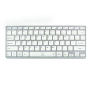 TECLADO EMINENT-EWENT BLUETOOTH 3.0 iOS/ANDROID/WINDOWS 8 PLATA/BLANCO