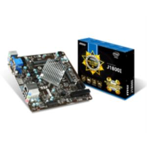 PLACA MSI J1800I INTEL DC J1800 2.41GHZ PCX X1 SO-DIMM DDR3 MINI-ITX HDMI USB3.0