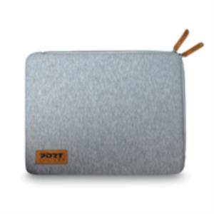 "FUNDA PORTATIL 13.3/14"" PORT DESIGNS TORINO SLEEVE GREY"