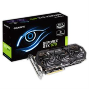 TARJETA GRAFICA 4GB GIGABYTE GEFORCE GTX 970 WINDFORCE 3X OC PCX3.0 DDR5 HDMI