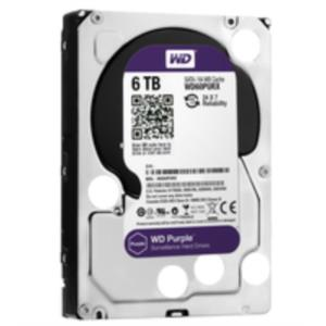DISCO DURO 6TB WESTERN DIGITAL SATA3 AV PURPLE 64MB