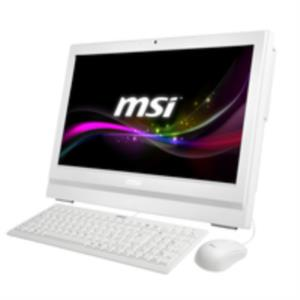 "ALL IN ONE MSI AP200-208XEU PENTIUM G3250 3.2GHZ/4GB DDR3/500GB/20""/TACTIL/FREEDOS"