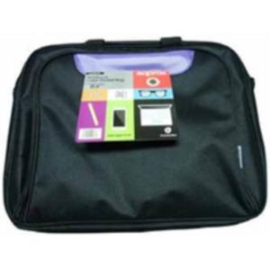 "MALETIN PORTATIL 15,6"" APPROX NYLON NEGRO/PURPURA"