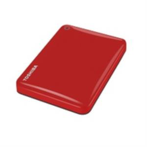 "DISCO DURO EXTERNO 500GB TOSHIBA CANVIO CONNECT II 2.5"" USB3.0 ROJO"