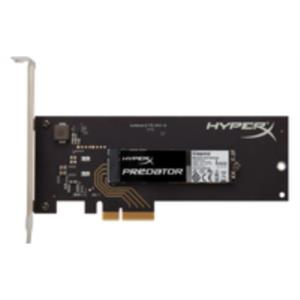 DISCO DURO 480GB KINGSTON SSD M.2 2280SS HYPERX PREDATOR CON ADAPTADOR PCIE HHHL