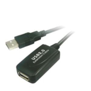 CABLE PROLONGADOR USB 5 MTS. CON AMPLIFICADOR