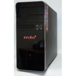 CAJA MICROATX INNOBO RED LIGHT S/F IN174