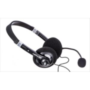 AURICULARES + MICRO NETWAY NEGRO/GRIS