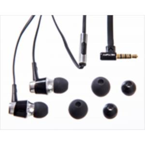 AURICULARES IN-EAR NETWAY METALICO NEGRO