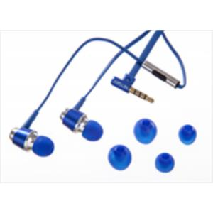 AURICULARES IN-EAR NETWAY METALICO  AZUL