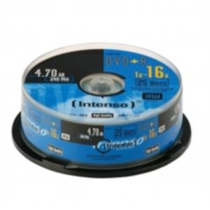 TAMBOR 25 DVD+R 4.7GB INTENSO 16X