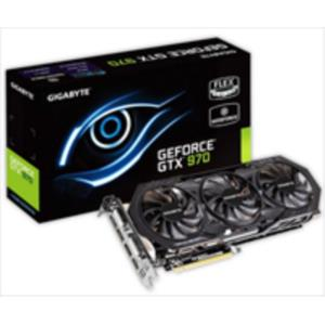 TARJETA GRAFICA 4GB GIGABYTE GTX970 R1.0 WINDFORCE 3X OC PCX3.0 DDR5 HDMI
