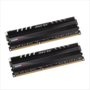 MEMORIA KIT 8 GB (2X4 GB) DDR3 1600 AVEXIR CORE SERIES CL11 LED ROJO
