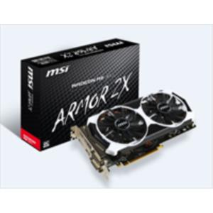 TARJETA GRAFICA 2GB AMD MSI R9 380 GAMING 2G PCX3.0 DDR5 HDMI-DPORT