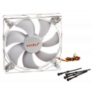 VENTILADOR INNOBO 14 CMS GAMING LED BLANCO