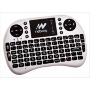 TECLADO NETWAY WIRELESS CON TOUCHPAD