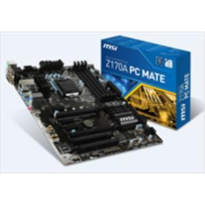 PLACA INTEL CORE i3/i5/i7 MSI Z170A PC MATE SK1151 DDR4 PCX3.0 ATX HDMI/DVI/VGA