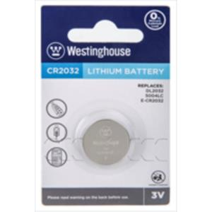 PILA BOTON DE LITIO CR2032 WESTINGHOUSE