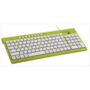 TECLADO NETWAY LOLLIPOP MULTIMEDIA VERDE
