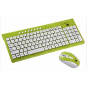 TECLADO INALAMBRICO + RATON LOLLIPOP OPTICO NETWAY VERDE 2,4GHZ