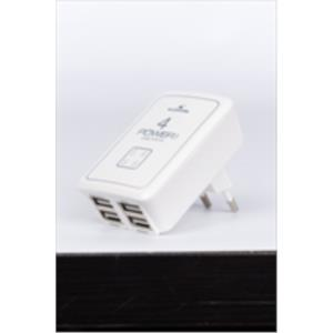 CARGADOR DE PARED USB 5V 4000MS BLUESTORK
