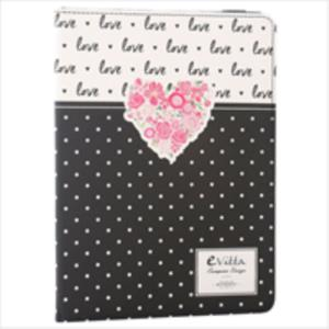 "FUNDA Y TECLADO TABLET MICRO USB 9.7 - 10.1""EVITTA LOVE"