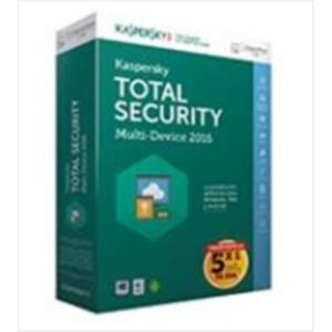 ANTIVIRUS KASPERSKY TOTAL SECURITY 2016 5 EQUIPOS EDICION ESPECIAL WINDOWS, MAC, ANDROID
