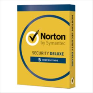 ANTIVIRUS NORTON SECURITY DELUXE 5 EQUIPOS 1 AÑO WINDOWS / MAC / ANDROID / IOS