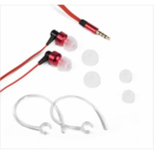 AURICULARES + MICRO NETWAY GAMING HADES IN-EAR NEGRO/ ROJO JACK 3.5MM