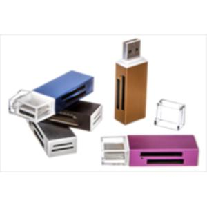 LECTOR MULTITARJETA INNOBO MINI USB COLORES X20