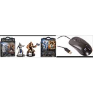 PACK RATON GAMING COVENANT + FIGURAS WORLD OF WARCRAFT (SOLDIER VS DUROTAN)