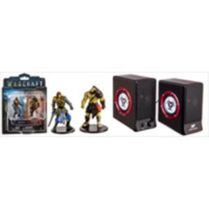 PACK ALTAVOZ GAMING FURY + FIGURAS WORLD OF WARCRAFT (LOTHAR VS HORDE)