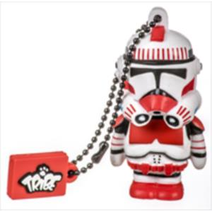 MEMORIA 8GB REMOVIBLE NETWAY-TRIBE USB 2.0 - SHOCK TROOPER