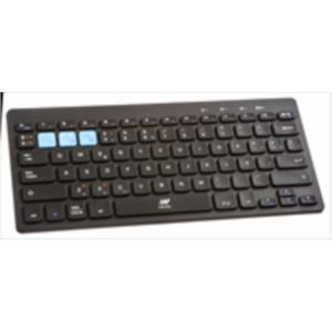 TECLADO NETWAY BLUETOOTH PC/IPAD/IPHONE/ANDROID CON SOPORTE NEGRO
