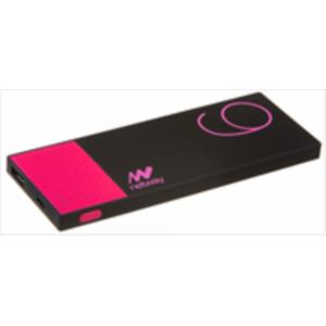 POWERBANK SLIM NETWAY 6000MAH ROSA RUBBER