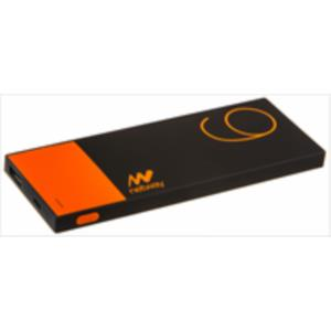 POWERBANK SLIM NETWAY 6000MAH NARANJA RUBBER