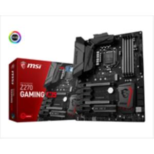 PLACA INTEL CORE i3/i5/i7 MSI Z270 GAMING M5 SK1151 DDR4 PCX3.0 ATX HDMI DPORT