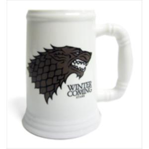 JARRA CERAMICA STARK WINTER IS COMING JUEGO DE TRONOS