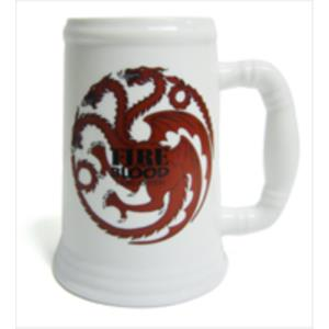 JARRA CERAMICA TARGARYEN FIRE AND BLOOD FIRE AND BLOOD JUEGO DE TRONOS