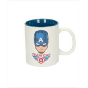 TAZA CERAMICA TEAM CAP BLANCA-AZUL MARVEL CIVIL WAR