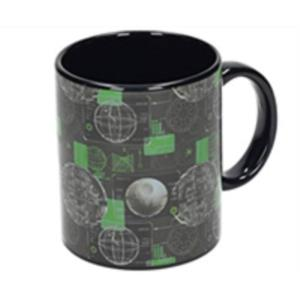 TAZA CERAMICA DEATH STAR NEGRA SW: ROGUE ONE