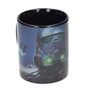 TAZA CERAMICA DEATH TROOPER NEGRA SW: ROGUE ONE