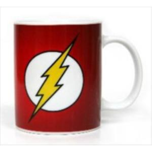 TAZA CERAMICA LOGO FLASH DC COMICS