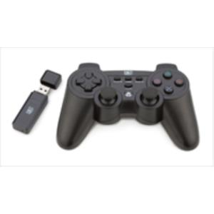GAMEPAD NETWAY PC + PS3 WIRELESS 2EN1 NEGRO