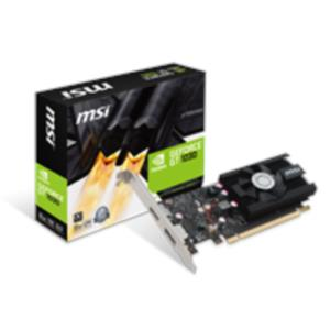 TARJETA GRAFICA 2GB MSI GEFORCE GT 1030 LP OC PCX GDDR5 HDMI/DPORT